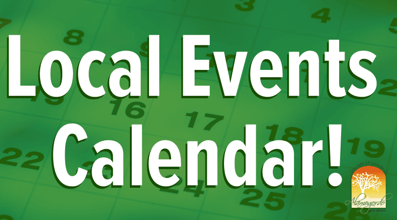 Local Events Calendar!
