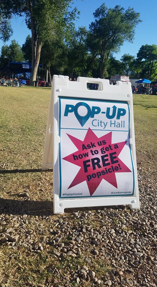 Pop-Up City Hall at the Zoo