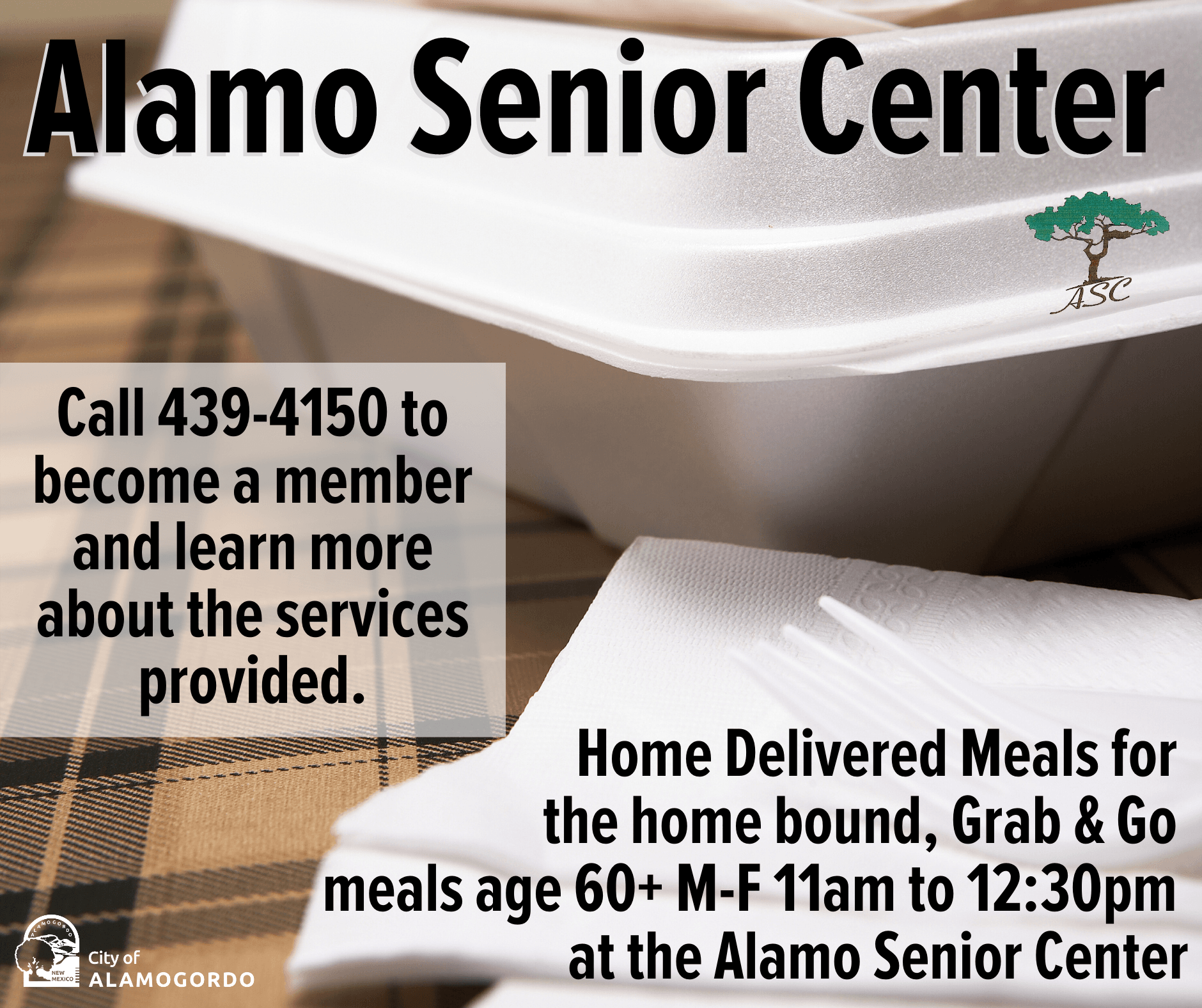 Alamo Senior Center - Grab and Go