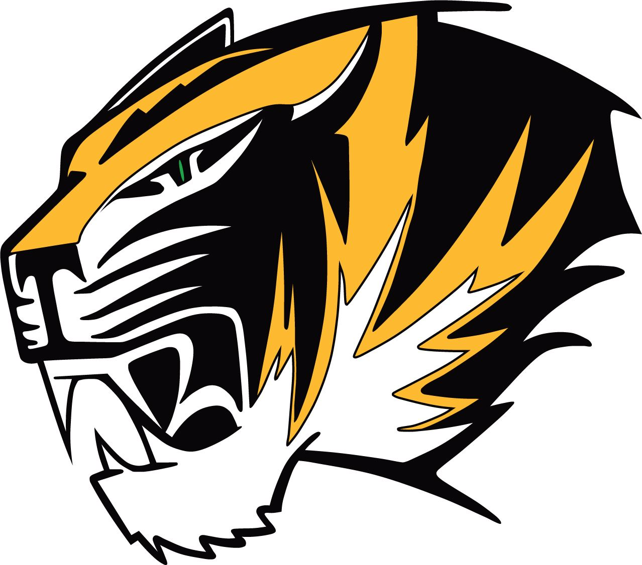 Alamogordo Tigers logo Opens in new window