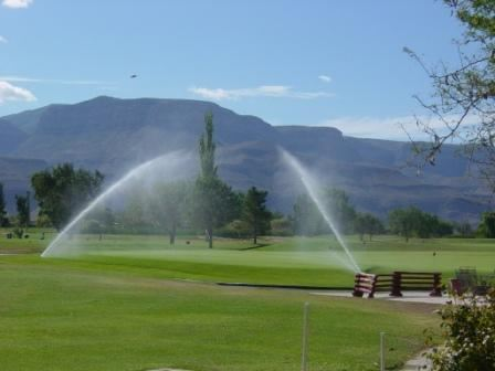 Golf Course Is Irrigated with Reclaimed Water